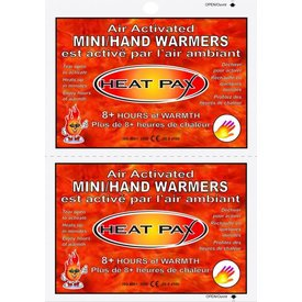 Heat Pax Air-Activated Mini/Hand Warmers