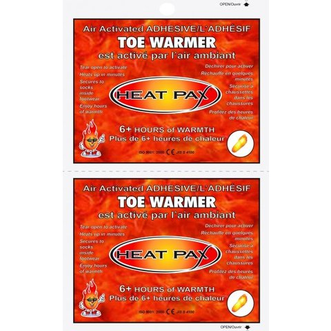 Air-Activated Toe Warmers