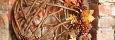 Herbst-Dekoration