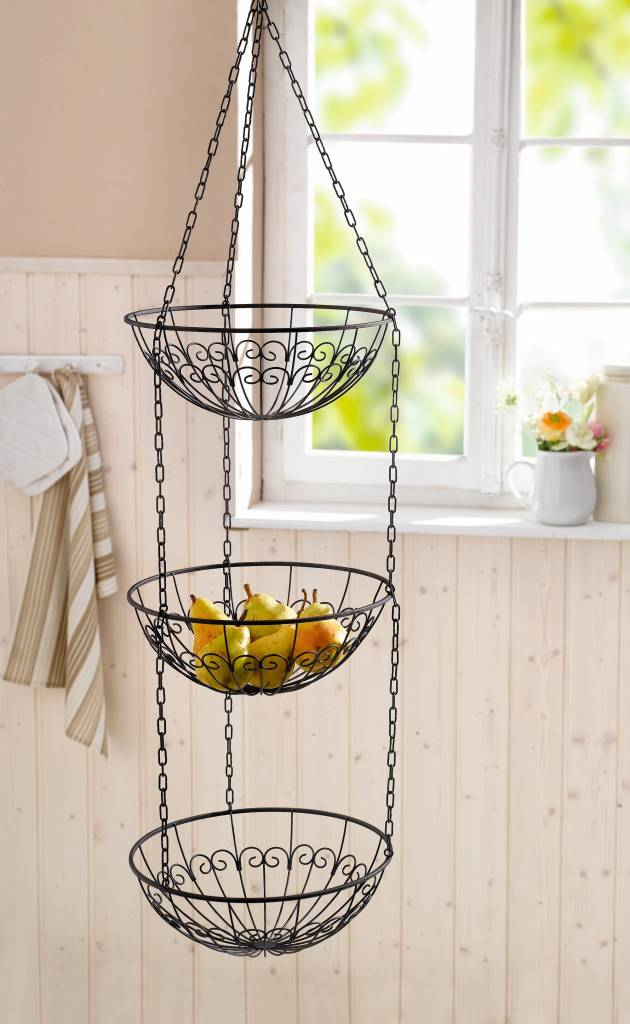 h nge etagere maison dunkelbraun wohnambiente shop. Black Bedroom Furniture Sets. Home Design Ideas