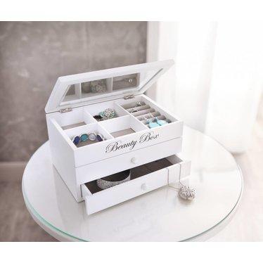 Schmuck-Box mit Schubladen