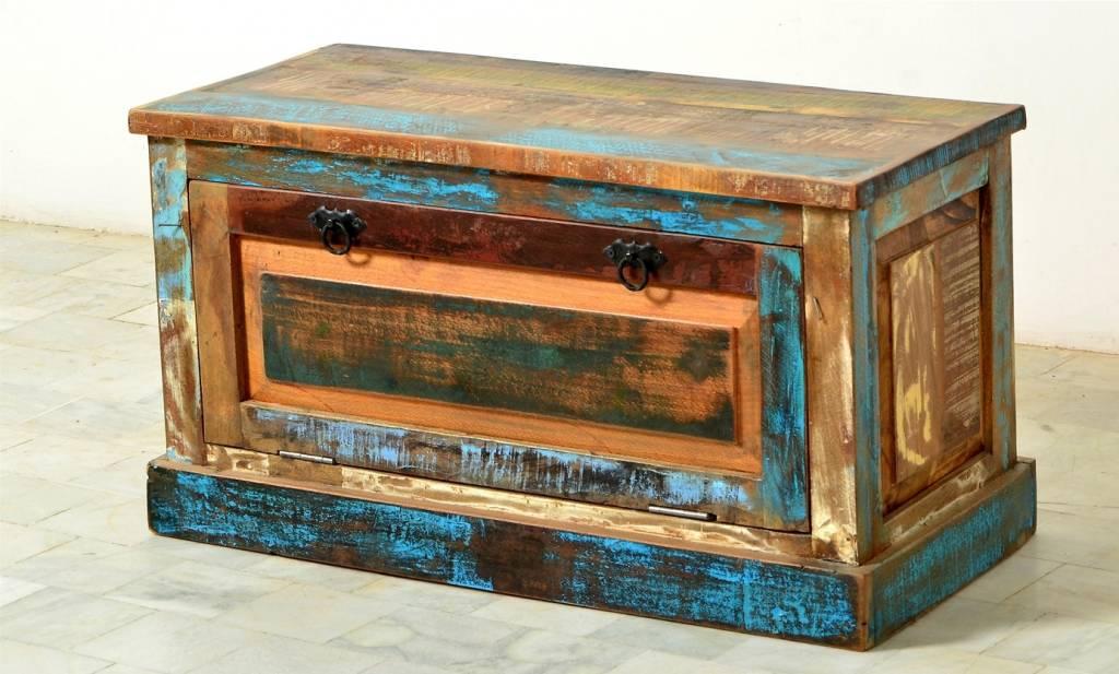 schuhtruhe aufklappbarer schuhschrank f r ca 6 paar schuhe wohnambiente shop. Black Bedroom Furniture Sets. Home Design Ideas