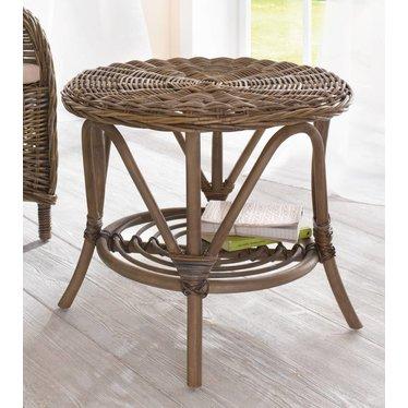Rattan-Tisch \