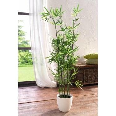 Kunststoff Pflanze Bambus 115 Cm Wohnambiente Shop