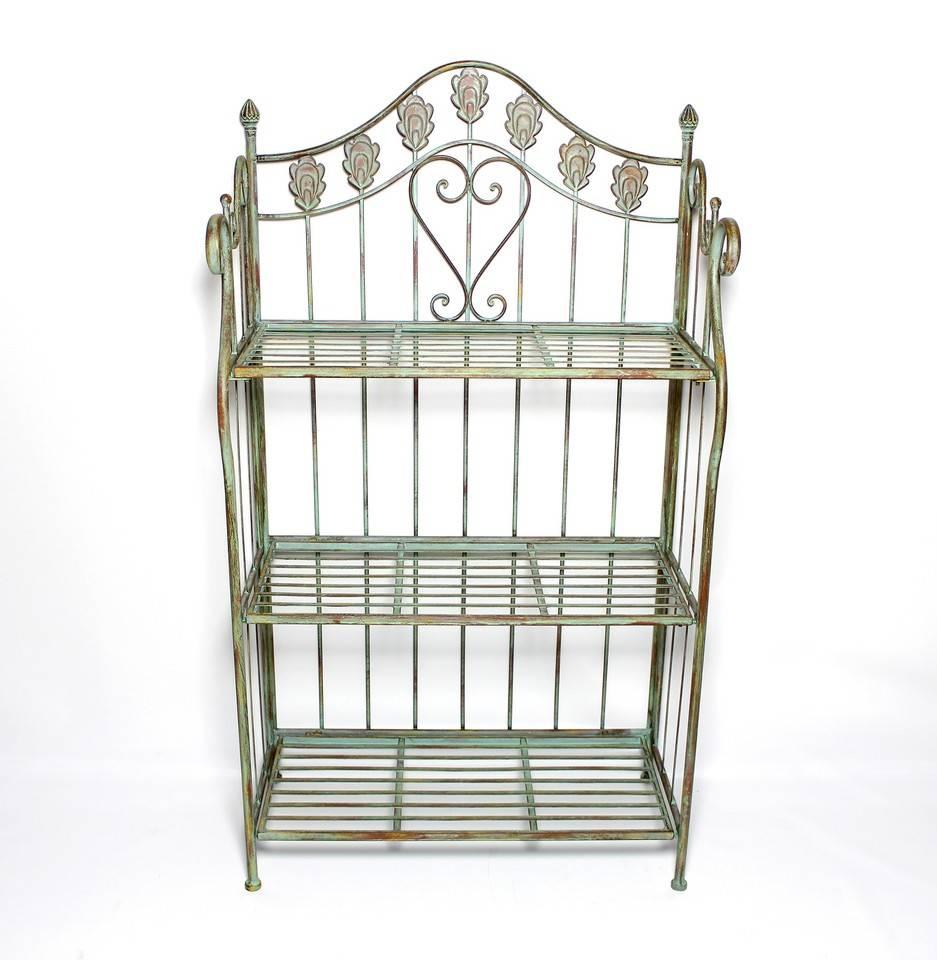 metall regal nostalgie wohnambiente shop. Black Bedroom Furniture Sets. Home Design Ideas