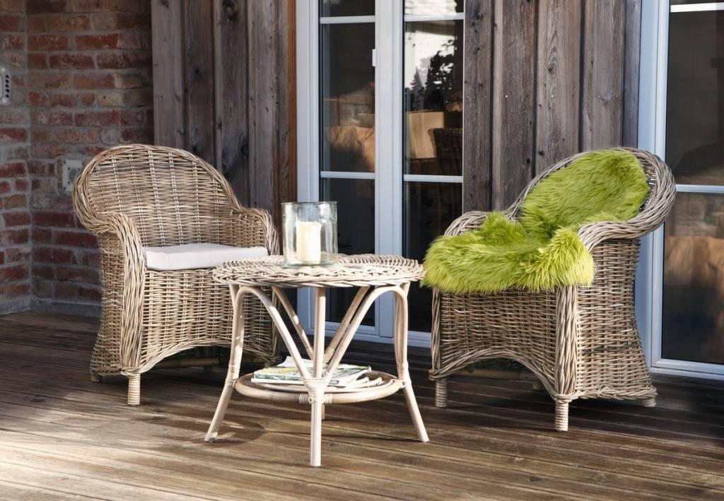rattansessel laurent mit abnehmbarer sitzauflage wohnambiente shop. Black Bedroom Furniture Sets. Home Design Ideas