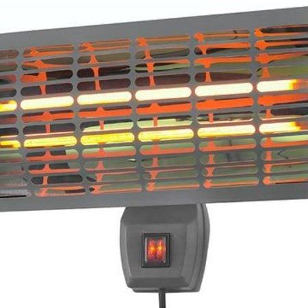 Eurom Q-time 2000 terrasstraler – terrasverwarmer 1000 – 2000 watt