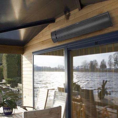 Eurom Eurom Outdoor heatpanel heater 1800 watt terrasverwarmer en terrasstraler