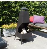 2L Home and Garden M14S183 tuinhaard – terrashaard Leon hoogte 115 cm.