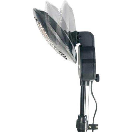 Perel Tools Elektrische TC76208 terrasstraler – terrasverwarmer 2000 watt op statief