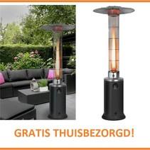 flame heater terrasverwarmer – sfeerhaard regelbaar vermogen 5 tot 12 kw.