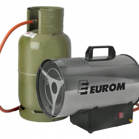 Eurom HKG15 heteluchtkanon op gas. Vermogen 14,8 kw gaskanon - gasheater