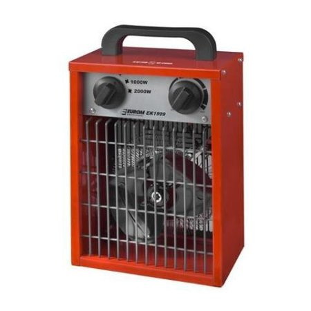 Eurom EK1999 elektrische kachel – heater 2000 watt werkplaatskachel