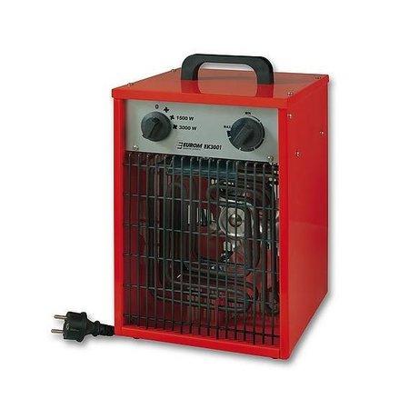 Eurom EK2001 elektrische kachel – heater 2000 watt werkplaatskachel