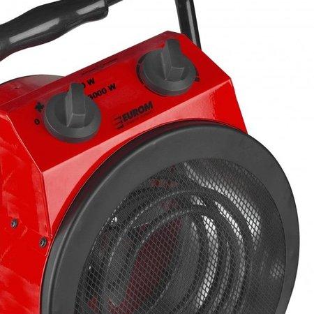 Eurom EK3000R-2 elektrische kachel – heater 3000 watt werkplaatskachel