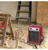Eurom EK5001 elektrische kachel – heater 5000 watt werkplaatskachel