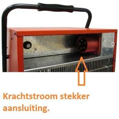Eurom EK15002 elektrische kachel – heater 15000 watt werkplaatskachel