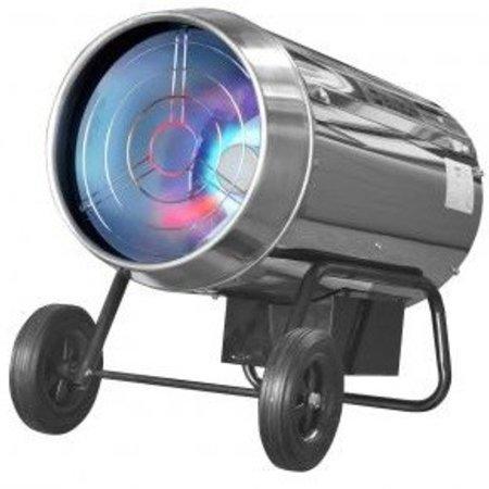 Eurom HK30A heteluchtkanon op gas 30 kW. Met thermostaat. Gasstraler