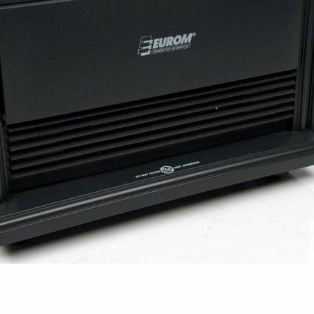 Eurom Barcelona elektrische sfeerhaard en verwarming max. 2000 watt
