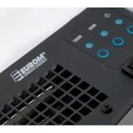 Eurom Siena elektrische sfeerhaard met vermogen van 1800 watt kachel