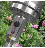 Eurom THG12000 zwart terrasverwarmer op gas – terrasstraler 12000 watt