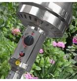 Eurom THG14000 RVS terrasverwarmer op gas – terrasstraler 14000 watt