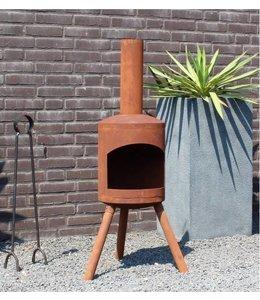 2L Home and Garden Tuinhaard potkachel Small 115 x 40 cm cm roest