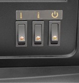 Classic Fire elektrische sfeerhaard kachel 1800 watt open haard AJ155