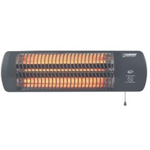 Q-time 1500 elektrische terrasverwarmer met 3 warmte standen