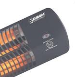 Eurom Q-time 1500 elektrische terrasverwarmer met 3 warmte standen