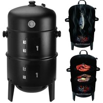 Smoker barbecue rookoven complete BBQ en grill