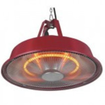 Partytent heater Sail red