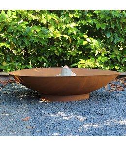 2L Home and Garden Vuurschaal Rond Ø 80 cm Roest