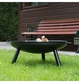 2L Home and Garden Vuurschaal Robusta Ø 60 x 20 cm zwart