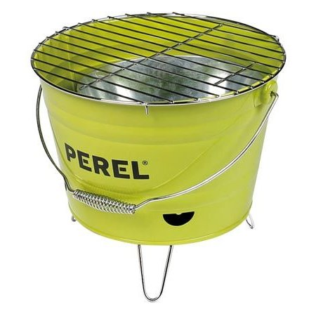Perel Tools Perel barbecue emmer limoengroen