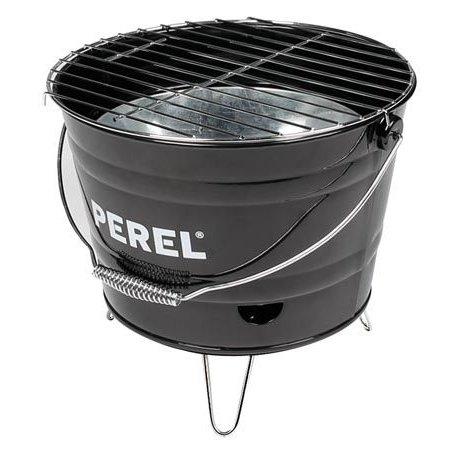 Perel Tools Perel barbecue emmer zwart