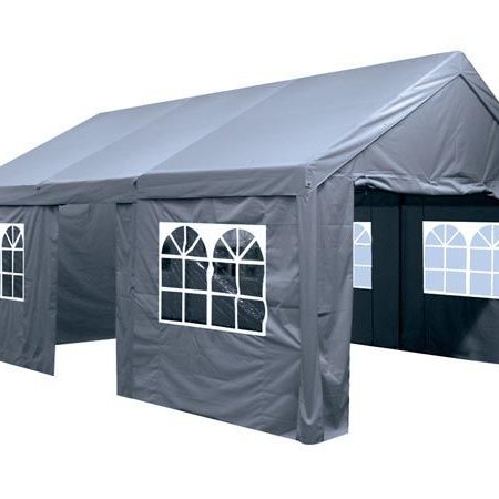 Perel Tools Partytent antraciet 4x8 mtr