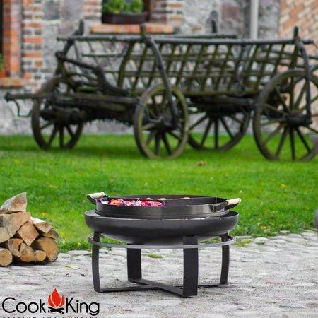 Cookking Cookking hapjespan voor op de vuurschaal