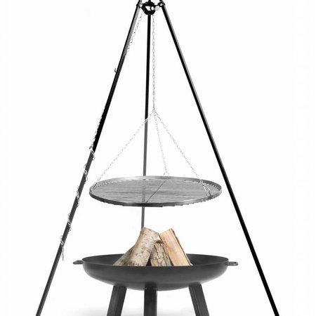Cookking Vuurschaal Polo Grillrooster BBQ set Ø 60 – 70 – 80 – 90 cm hoogte 180 cm