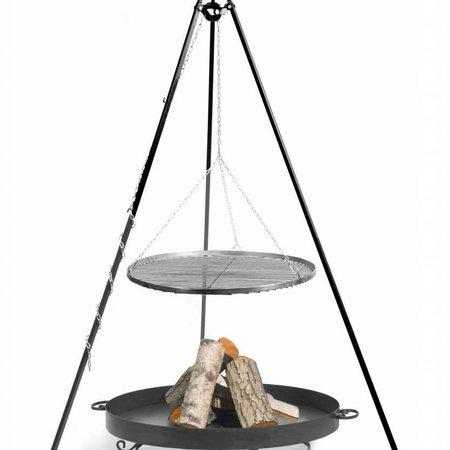 Cookking Vuurschaal Malta Grillrooster BBQ set Ø 60 – 70 – 80 – 90 cm hoogte 180 cm
