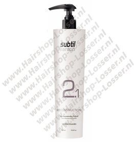 Subtil Subtil keratin 2.1 reconstruction 500ml