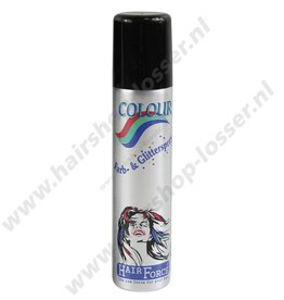 Hairforce Glitterspray zilver