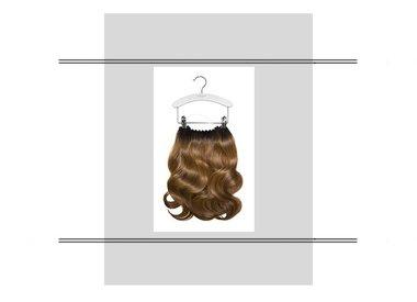 Hair dress/ flip-in
