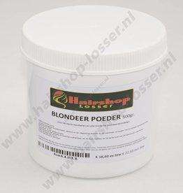 Huismerk Blondeerpoeder pot 500 gram