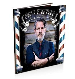 Huismerk Pop up barber magazine