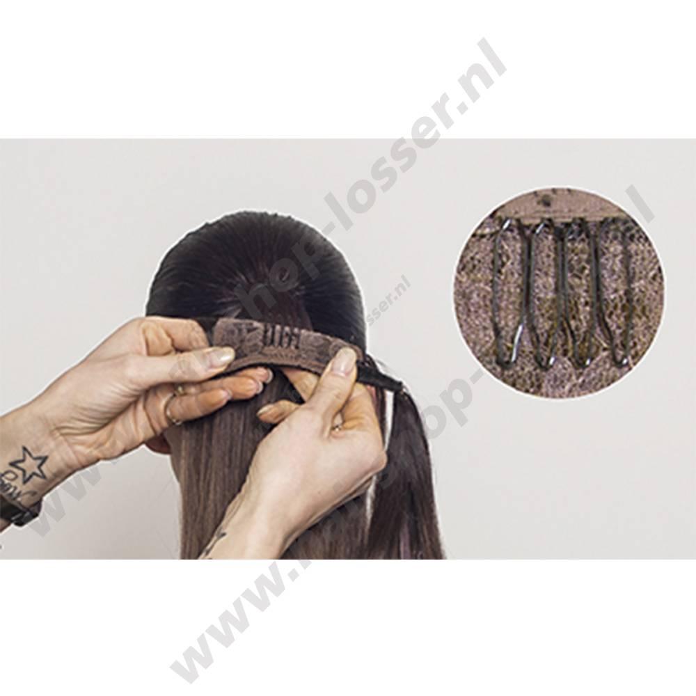 Balmain Catwalk ponytail Dubai Blue