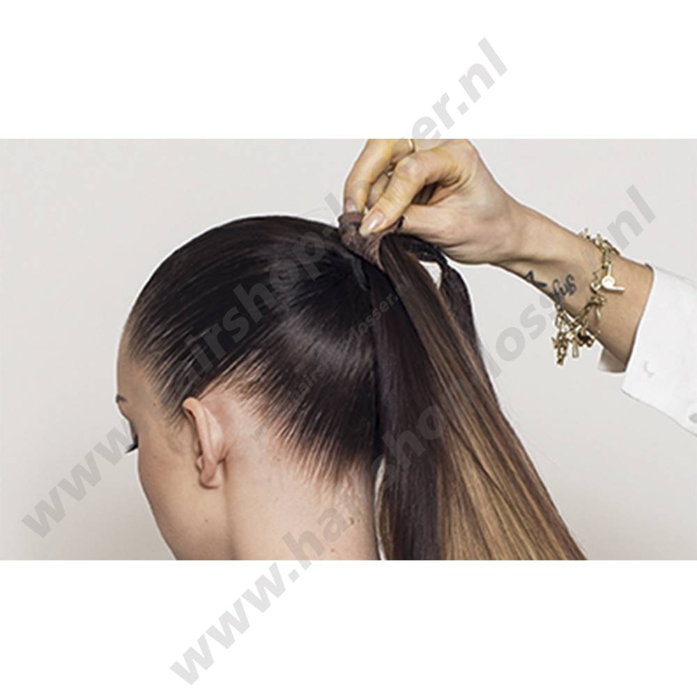 Balmain Catwalk ponytail London pink