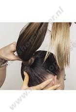 Balmain Catwalk ponytail Stockholm violet