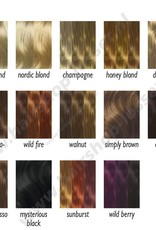 Balmain Color fringe 15cm dark sand