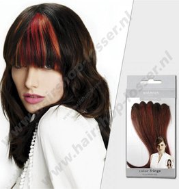 Balmain Color fringe 15cm wild fire